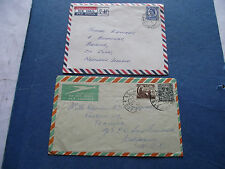 EIRE/IRELAND. (1952+1962) TWO F.P.O. 'FIELD POST OFFICE' COVERS.