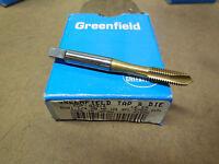 "GREENFIELD 3//8/""-24 NF H3 EM-Stainless Steel Gun TiN Tap Spiral Point 82918"