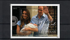 Guyana 2013 MNH Birth Prince George Royal Baby 1v S/S William Kate Middleton