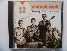 12 O CLOCK ROCK JOHNNY & THE HURRICANES RARE FREEPOST CD
