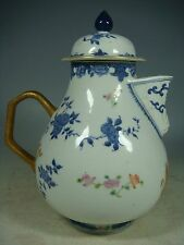 beautiful chinese export armorial famille rose porcelain teapot