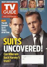 Suits TV Guide Jul 2013 Patrick J Adams Gabriel Macht Under the Dome Comic-Con