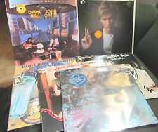 6 Lp LOT daryl hall & john oates PROMO sacred songs SEALED three hearts warbabie