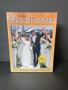 The Original Magic Planner #1 WEDDING PLANNING SOFTWARE windows '95