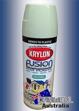 Krylon Fusion Plastic Paint 340gm - Honeydew Gloss - AUS Seller