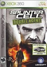 Tom Clancy's Splinter Cell: Double Agent (Microsoft Xbox 360, 2006) DISC IS MINT