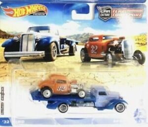 Hot Wheels TEAM TRANSPORT  no 32 Ford 32 and speed wave