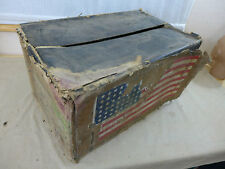 US ARMY DEPOT Kiste Karton von Dressing First Aid Verbandpäckchen