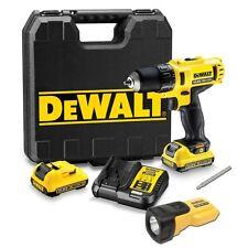 Dewalt DCD710D2T 10.8V 2.0Ah Cordless Driver Drill + Work Light / 220V Charger