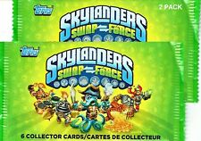 2013 Topps Skylanders Swap Force Trading Cards - TWO 6 Card Packs