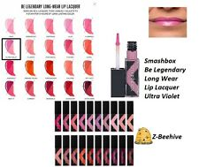 Smashbox Be Legendary Long Wear Lip Lacquer in Ultra Violet 0.20 oz. Sealed in B