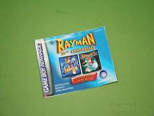 (Gameboy Game Boy Advance) Manuale di Istruzioni-RAYMAN 10th ANNIVERSARY