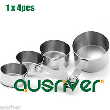 Stainless Steel Kitchen Tool Measuring Cups Set For Baking Coffee Tea Cooking