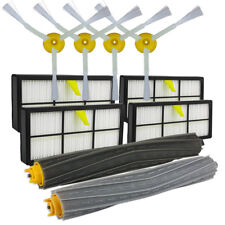Filter Side Brushes Clean Replacement Tool Kit for iRobot Roomba 800 866 876 900