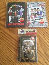 One Direction Boy Band Vintage Journals And Notebooks- New! Retro
