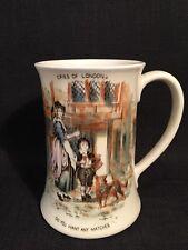 "Vintage Crown Devon Fieldings ""Cries Of London"" Large Porcelain Tankard 1078"