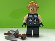 LEGO Thor Minifigure Marvel Super Heroes 76102 Authentic Minifig SH502