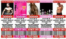 HENS NIGHT Ticket Style Invitations fully personalised