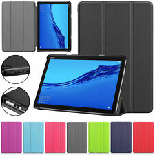 "Tablet Leather Smart Magnetic PU Stand Case Cover For Huawei MediaPad T5 10.1""M5"