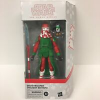 Star Wars The Black Series SNOWTROOPER   HOLIDAY EDITION Stormtrooper with PORG