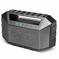 ION Audio Plunge | Waterproof Stereo Boombox with Bluetooth, Built-in Microphone