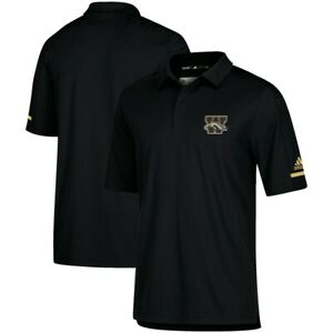 Western Michigan Broncos Adidas  Coaches Sideline climalite Polo S-L $75