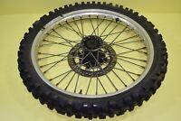 1984 CR500 CR 500 CR250 CR125 Front Wheel Rim Tire Hub Rotor Assembly 21x1.6