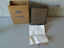 1-way woodgrain wall speaker - weave   brown valcom new watt self amplified with