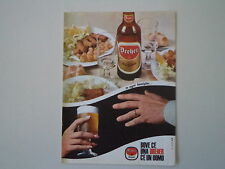 advertising Pubblicità 1967 BIRRA DREHER