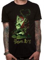 Official Batman Poison Ivy Green Pose T Shirt DC Comics Black NEW S M L XL XXL