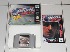 Nintendo 64 N64 WAYNE GRETZKY'S 3D HOCKEY - OTTIMO ITA PAL NHL