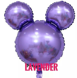Mickey Minnie Mouse Birthday party foil balloons 3 pack baby shower centerpiece