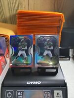 2020 Panini Prizm Denzel Mims Red White Blue Prizm & Base Rookie Card Lot Of 2🔥