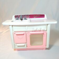 New ListingVintage Barbie Kitchen Sink Island Dishwasher 1993 Pretend Play Doll Furniture