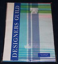 Designer Guild Kopfkissenbezug 65 x 65 cm Karo blau-grün-türkis-pink Waterville
