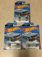 Lot-3, Hot Wheels Screen Time 007🔫 5/10 - '65 Ford Mustang Convertible, 59/250