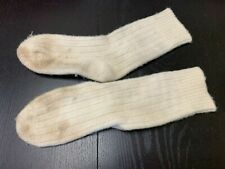 Hand-knit, 100% Wool socks, A+ Civil War, Ww1 Re-enacting, Used, but excellent