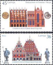 Letonia 2007 UNESCO/edificios/Arquitectura/Historia/Patrimonio/Monedas 2v Set (lv1017)