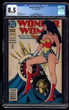 WONDER WOMAN 72 CGC 8.5 3/93 BILL LOEBS STORY BRIAN BOLLAND  COVER NEWSSTAND