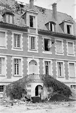 Negativ-Variscourt-Picardie-Guignicourt-1940-Feldlazarett-34.ID-infanterie-34