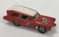 Husky Monkees Monkeemobile Diecast Red Model Car Made in GT Britain AA