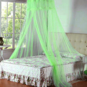 Anti-mosquito Net Bedspread Summer Solid Color Light Airy Household Decor NY