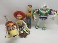"Toy Story UTILITY BELT buzz lightyear 12"" talking figure lights up, woody jessie"