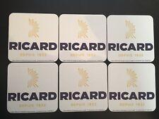 SUPER PROMO // 6 SOUS BOCK RICARD - NEUF - PORT OFFERT !