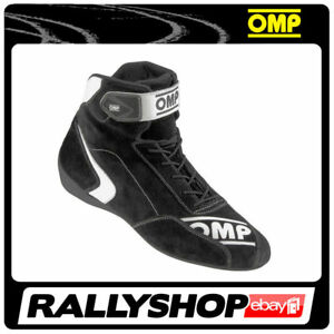 FIA Approved OMP First S Shoes, size 47 CHEAP DELIVERY WORLD! Black STOCK