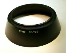 Olympus 49mm Screw on type Lens hood for OM 28mm f3.5 35mm f2.8 Metal threaded