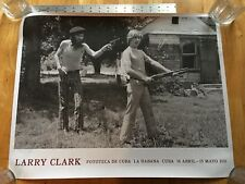 Cuban LARRY CLARK Poster 22 by 18 Inches RARE As New