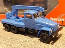 1/87 Herpa IFA G5 Kranfahrzeug blau 308106