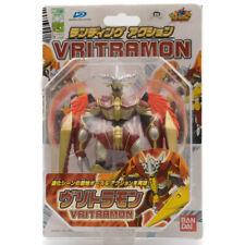 Figura De Acción De Bandai Digimon Frontier vritramon con código de barras D-Power