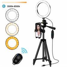 Lámpara De Anillo para Selfie Teléfono Móvil Trípode vlogging YouTube Tik Tok titular de iluminación